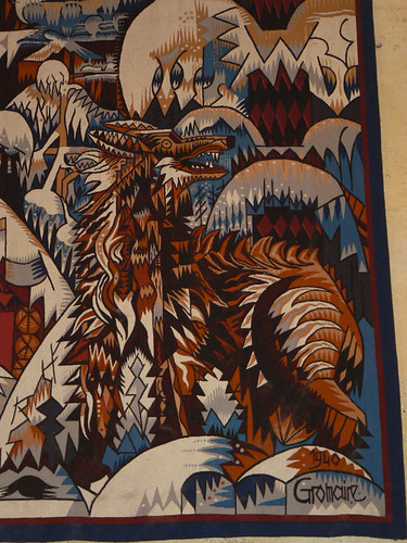 Tapestry Detail, French Embassy, Ottawa