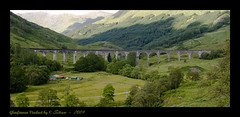 Glenfinnan viaduct - Scotland (Joan Nierga) Tags: paisajes mountain tree canon landscape arbol scotland arboles harrypotter paisaje escocia viaduct bosque puentes vacaciones holydays glenfinnan montañas viaducto interestigness supershot theunforgetablepictures vosplusbellesphotos