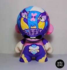 Carnival Munny (WuzOne) Tags: toy vinyl kidrobot custom munny wuzone