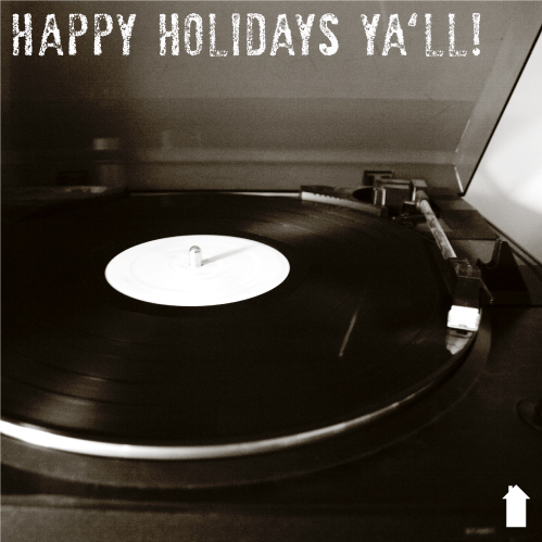 Vertical House Records Wish You Happy Holidays!
