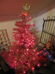 Pink Tree inside Tinsel Wonderland! 4