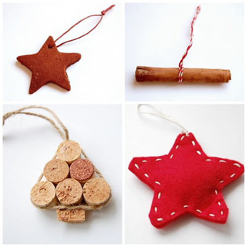DIY Christmas tree ornaments