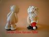 Santa Desnudo Navidad (Bertha Elina Marcano) Tags: en navidad pasta masa francesa flexible fria porcelana porcelanicron felxible