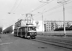 Tramvaj T3 SU (robokubo) Tags: city tram 1984 streetcar tramway tatra tramvaj москва volgograd город трамваи волгоград