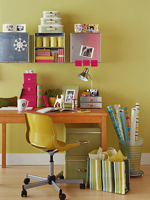 Small Space Inspiration | Study Space