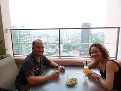 (Expensive) cocktails atop the Sheraton, HCMC