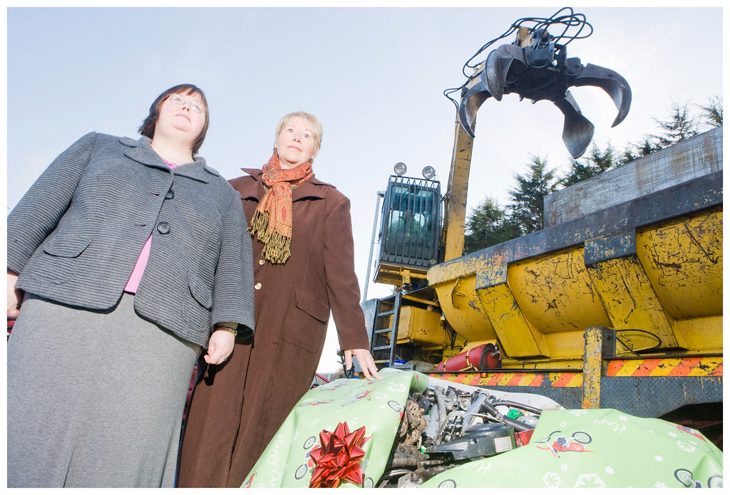 Christmas crushing marks end road for illegal bikes 11Dec09