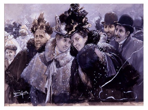 I.E.A. 22 FEBRERO 1898 - 1.º N.º VII. Pág. 105. «CONFETTI» Y SERPENTINAS-DIBUJO DE JIMÉNEZ MARTÍN