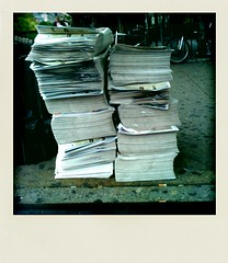 Waste - Who's delivering the paper today?