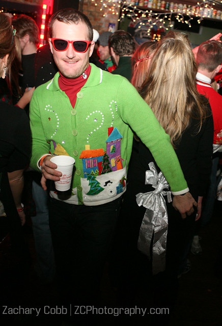 The Ugly Christmas Sweater Party, Party Pics - 2009-39