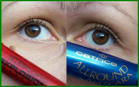 Waterproof Mascara on Comparison Of L   Or  Al And Catrice  Eng  Ger    Mylanqolia S Make Up