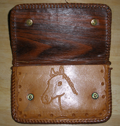 Inside Horse Handmade Wallet