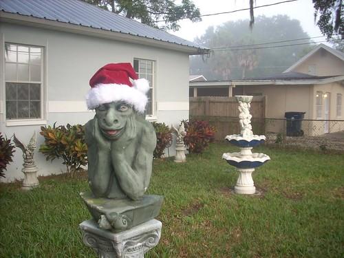 Santa Gargoyle