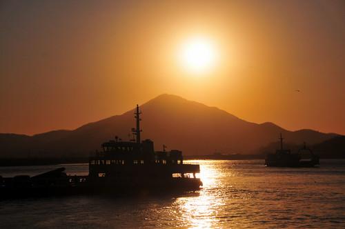 Sunrise, Oepo-ri Harbor, Ganghwa Island