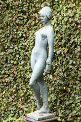 Statue of a naked young women, Monte Palace garden, Funchal (smir_001) Tags: park history tourism portugal statue garden naked women young palace jardim figure tropical monte madeira attraction