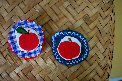 apple brooches