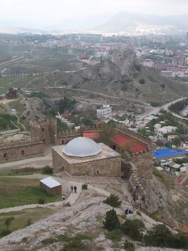 Vistas de la ciudad desde la fortaleza