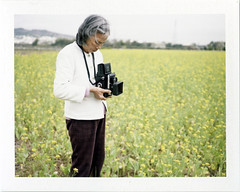 Photograph forever (Daa) Tags: life family portrait people white green home yellow grandmother taiwan taichung     fujifp100c fujiinstantcamerafotoramafp1professional fujinonebc105mmf56 instantfilm