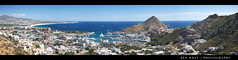 Cabo San Lucas Panoramic (BenW - Photons, git in here!) Tags: ocean mexico cabo panoramic 5d baja cortez cabosanlucas pedregal