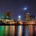 Austin winter night