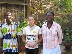 1. With Isabelle and Pascal, Gryphon, Ouagadougou