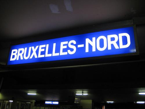 BRUXELLES GARE DU NORD
