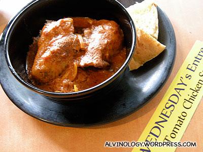 Wednesday - Tomato Chicken Stew