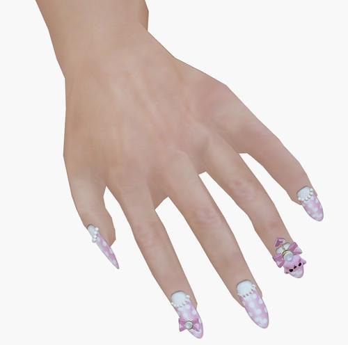 Love Soul prim nails