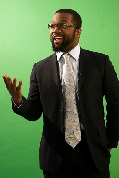Baratunde Green Screen