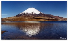 PARINACOTA (RLuna) Tags: chile travel viaje reflection nature america canon landscape lago photography mirror reflex holidays view nieve paisaje espejo reflejo latinoamerica vacaciones altura nevado sudamerica volcan simetria parinacota potofgold putre chungara iberoamerica hispanoamerica mywinners abigfave platinumphoto superaplus montana rluna1982 rluna panoramafotogrfico magicunicornverybest magicunicornmasterpiece tripleniceshot mygearandmepremium mygearandmebronze mygearandmesilver mygearandmegold mygearandmeplatinum mygearandmediamond dblringexcellence panoramafotografico flickrstruereflection1 flickrstruereflection2 flickrstruereflection3 flickrstruereflection4 flickrstruereflection5 flickrstruereflection6 flickrstruereflection7