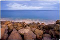 Rocky Madeira (Paul Raptis) Tags: ocean santa sea beach portugal night island photography nikon rocks rocky sigma cruz 1020mm madeira funchal d90 borderfx
