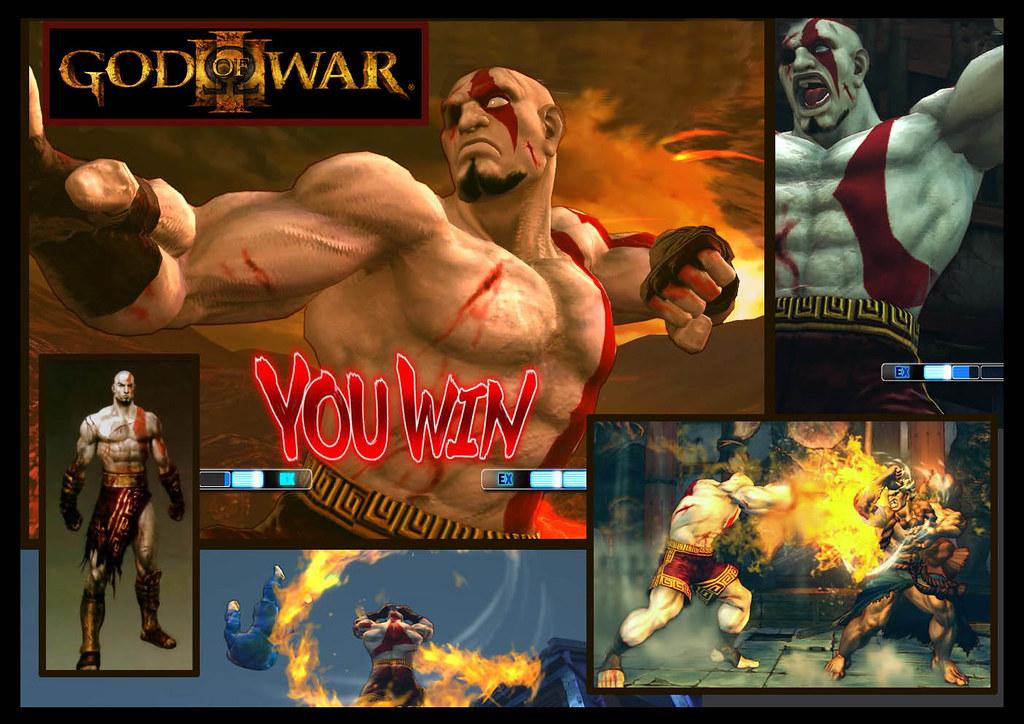 Sagat Kratos