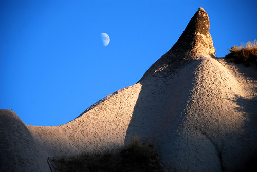 moonrise over cappadocia