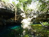 The entrance to the Gran Cenote.