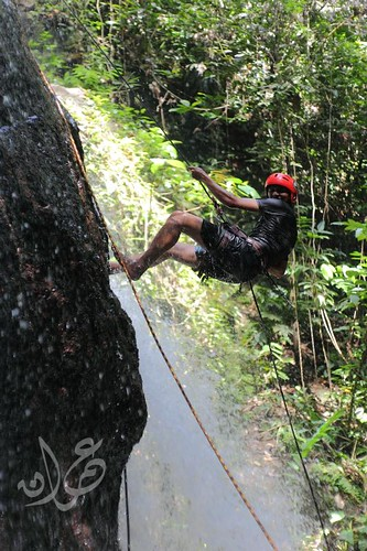 Abseiling @ Sungai Pisang Waterfall