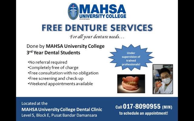 Denture services
