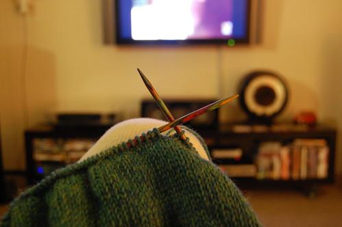 knitting.....