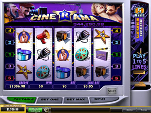 Cinerama slot game online review