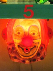 clown #5 (ashabot) Tags: red neon circus clown nevada midway casinos