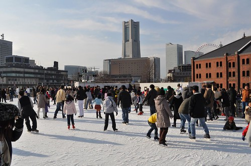 Yokohama Ice Skating