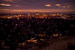 Boise by Night (captain.camera 125,000+ views, Thank you!) Tags: county sunset sky cloud art clouds photoshop ada nikon raw nef id sigma idaho boise capitol elements d200 lucisart lucis edse