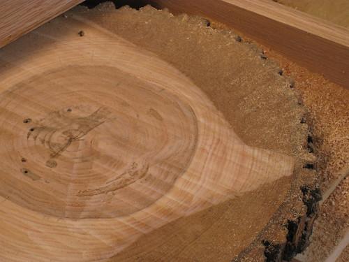 routing log round flat