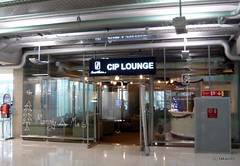 Louis' Tavern CIP First Class Lounge, Bangkok Thailand