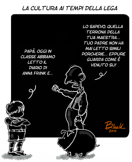 Lega Nord Anna Frank