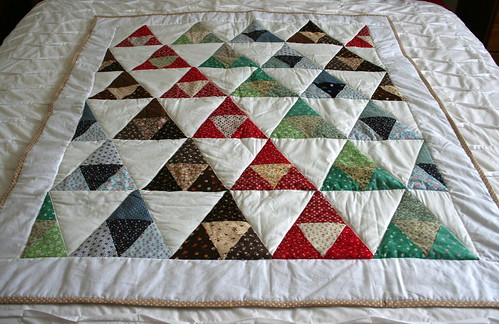 finished rescued quilt