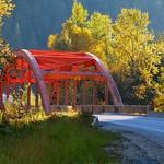 Bridge at Sunset, near Revelstoke, BC thumbnail