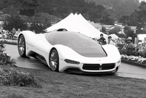Maserati Birdcage 75th Concept. Maserati Birdcage 75th. Concept Cars. Pebble Beach 2005 Concours. 0280 copy