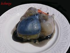 Jibia en tinta con arroz-bolsa tinta +