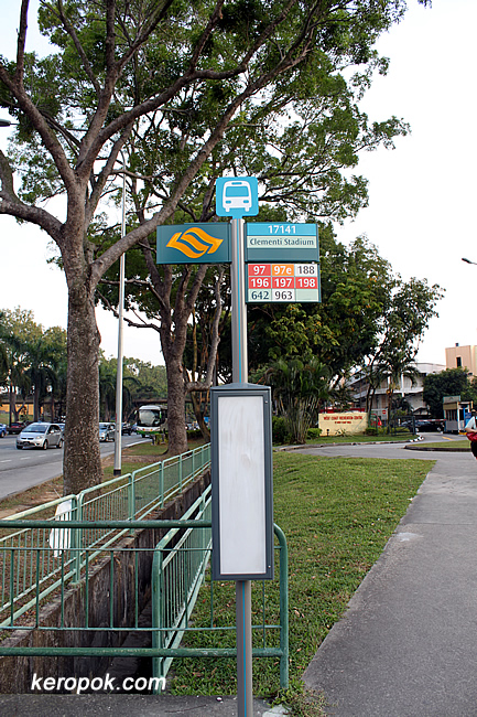Bus Stop Sign Poles