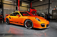 GTdos (ojsantiago21) Tags: orange nikon 911 porsche brilliant gt2 2010 d300 2470mm alienbees flat6 automotivephotographer b800 ojsantiago cybersync twinturbocharged wrightmotorsports variableturbinegeometry